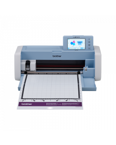 Masina Scan N Cut Brother SDX1200, taie si scaneaza material textil, hartie, carton si altele