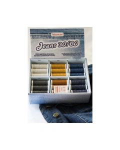 Set ata de cusut pentru DENIM 6 culori
