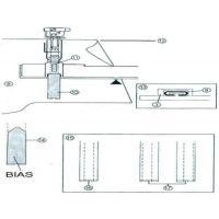 Piciorus set de aplicare a benzii bie SA224CV (BSM)  XB1306001/XB2973001