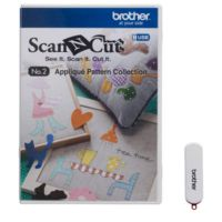 USB No. 2, Modele Ornamentale Brother Scan N Cut