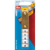 Centimetru croitorie profi cu placuta de metal, Prym, 282175