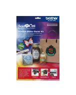 Kit Etichete Imprimabile Scan N Cut Brother CAPSKIT1